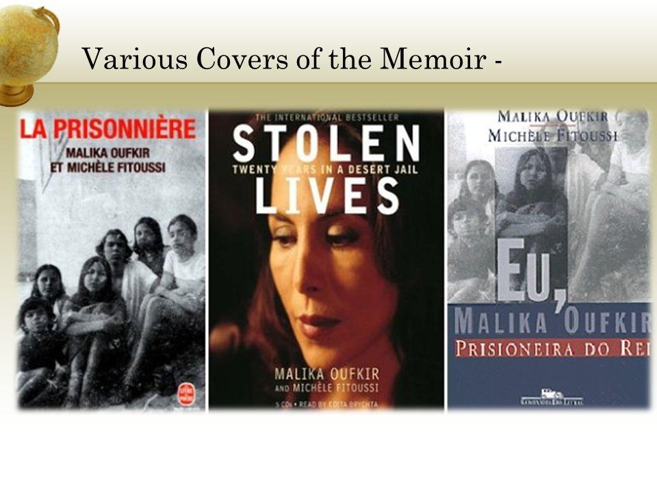 Various Covers of the Memoir -