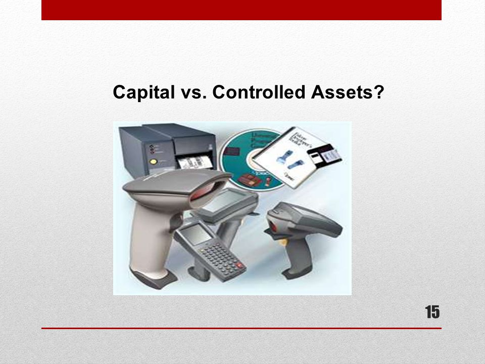 Capital vs. Controlled Assets