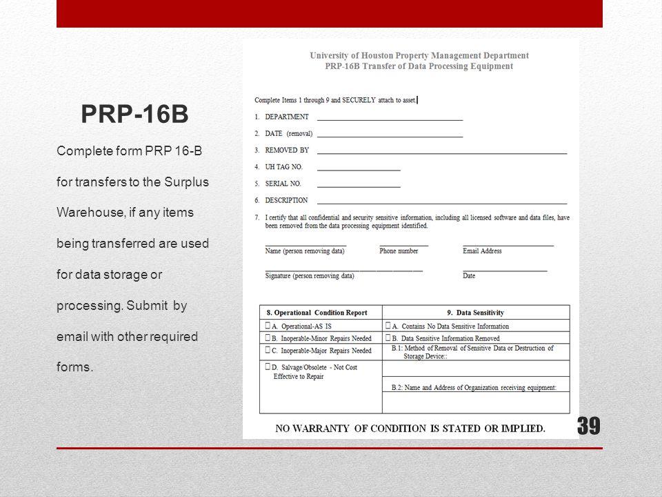 PRP-16B