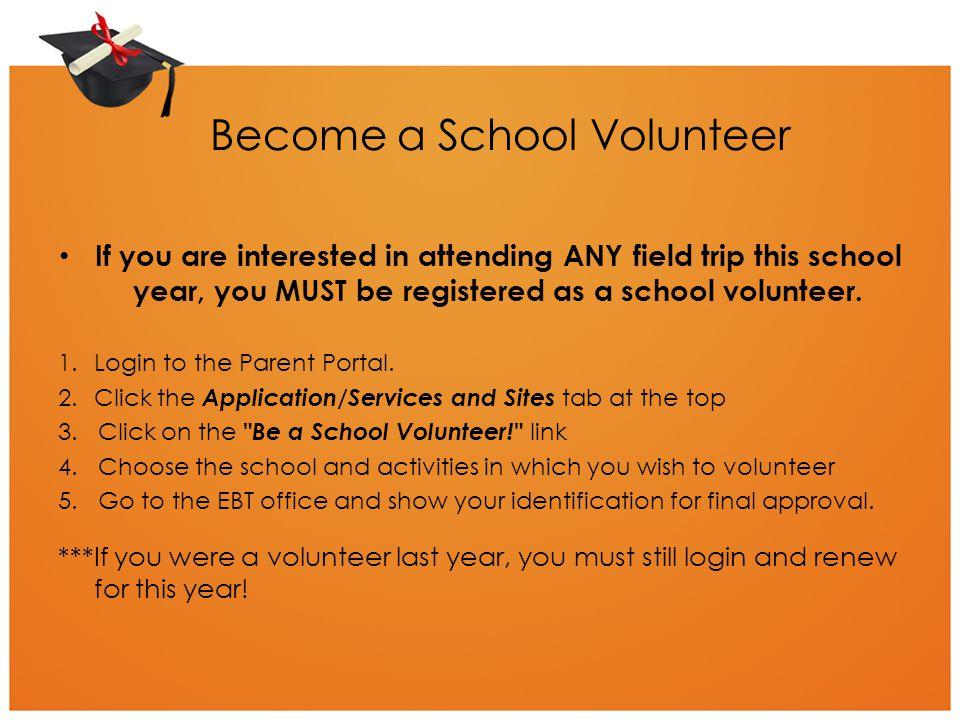 Become a School Volunteer
