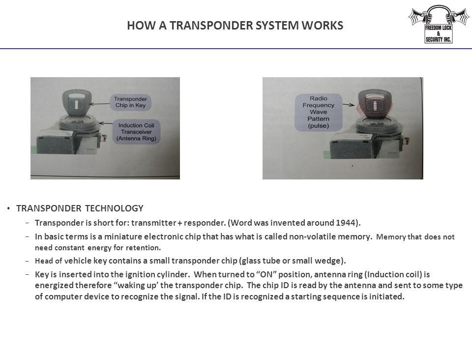 HOW A TRANSPONDER SYSTEM WORKS