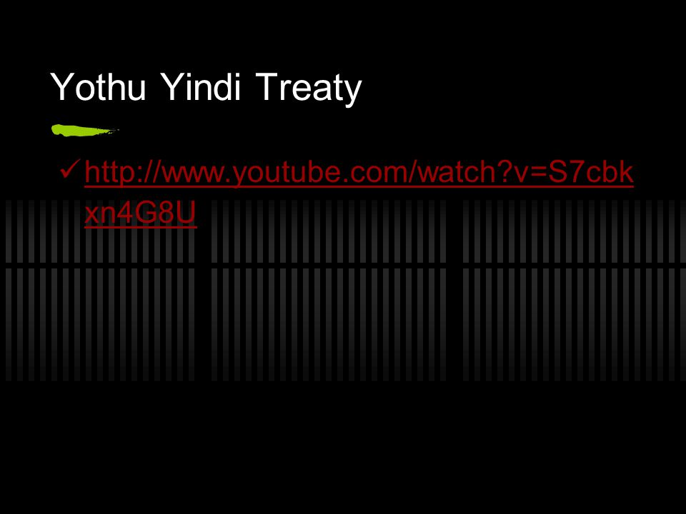 Yothu Yindi Treaty http://www.youtube.com/watch v=S7cbkxn4G8U