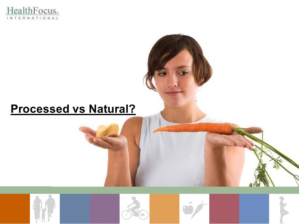 Processed vs Natural