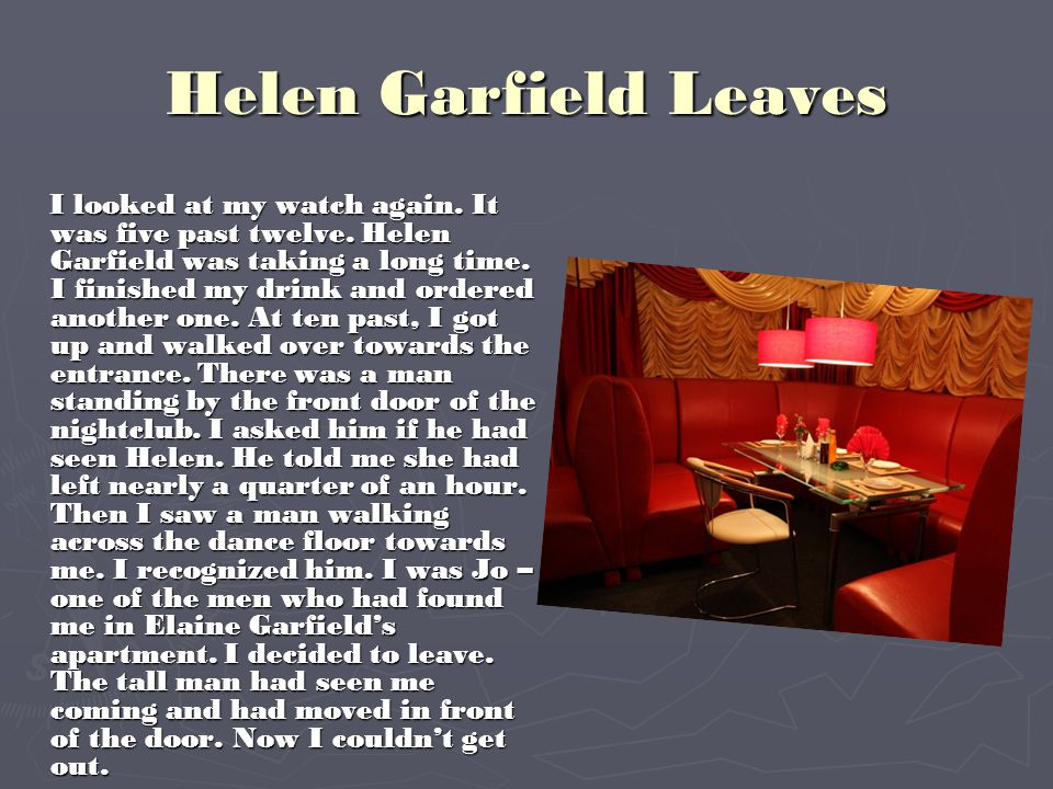 Helen Garfield Leaves