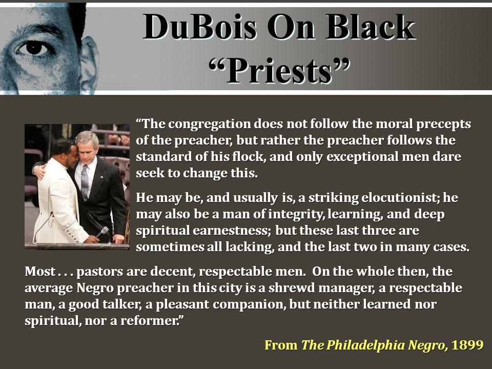DuBois On Black Priests