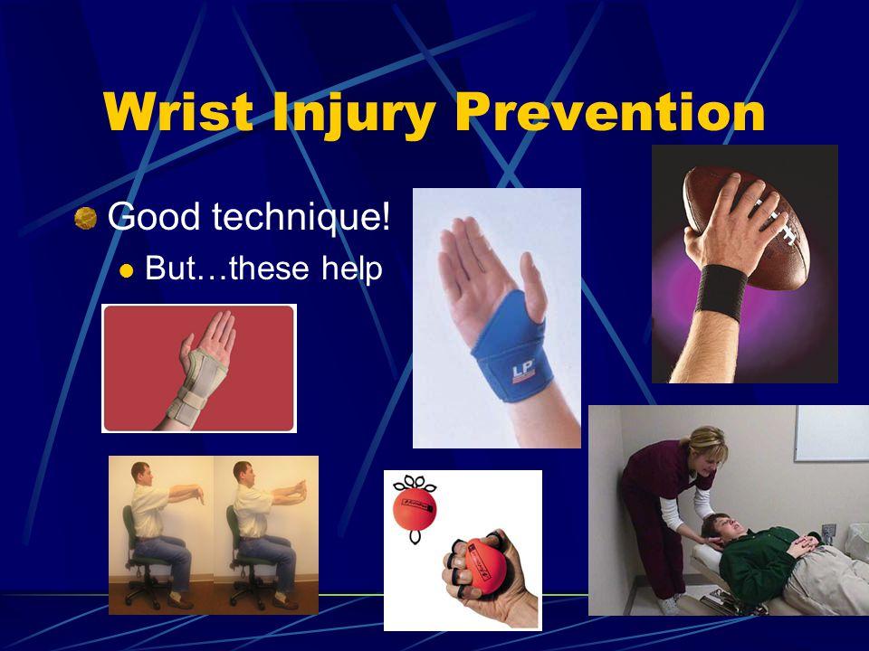 Wrist Injury Prevention