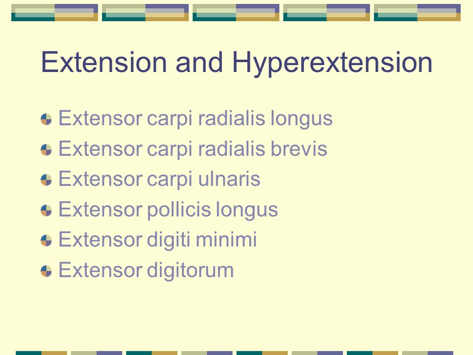 Extension and Hyperextension