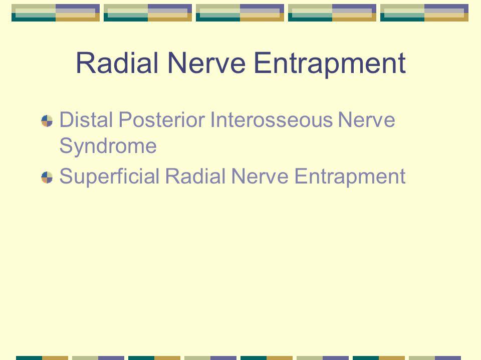 Radial Nerve Entrapment