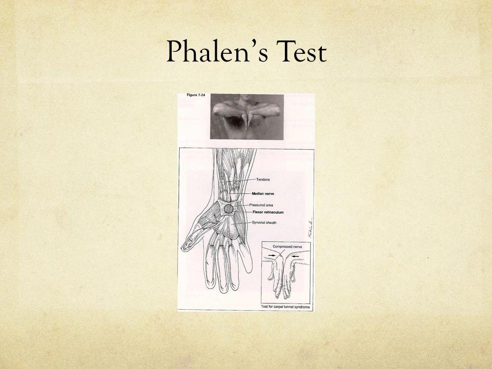 Phalen's Test