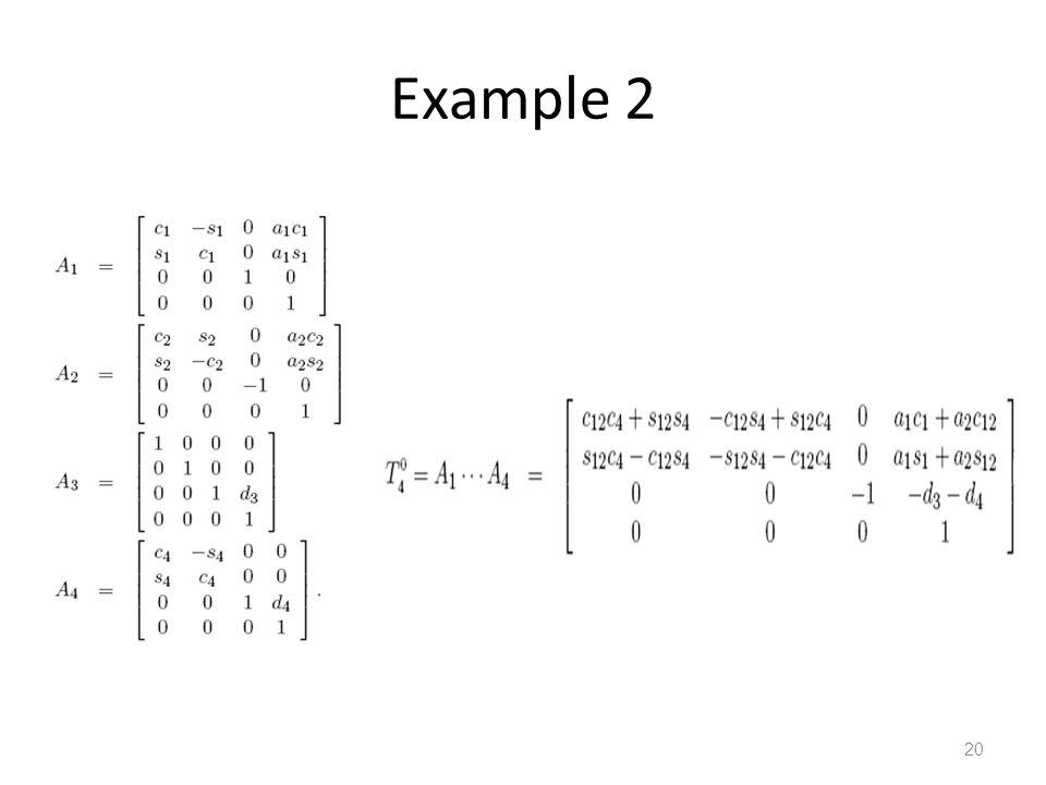 Example 2 20 20