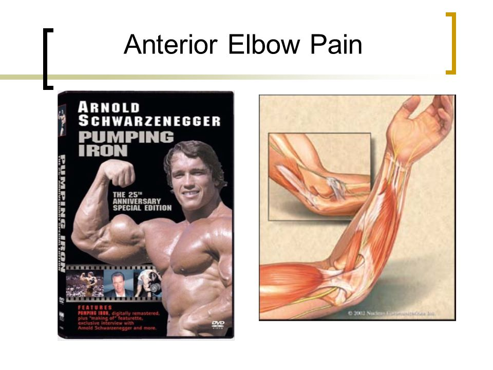 Anterior Elbow Pain