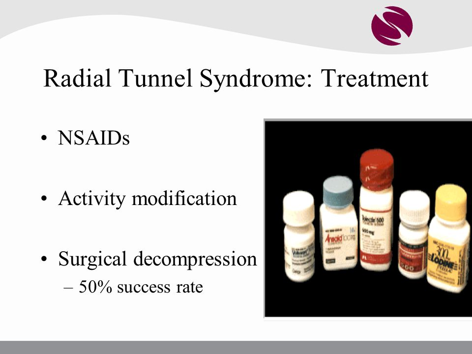 Radial Tunnel Syndrome: Treatment