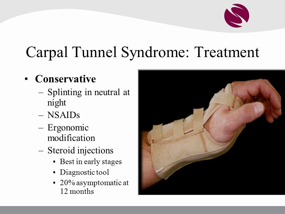 Carpal Tunnel Syndrome: Treatment