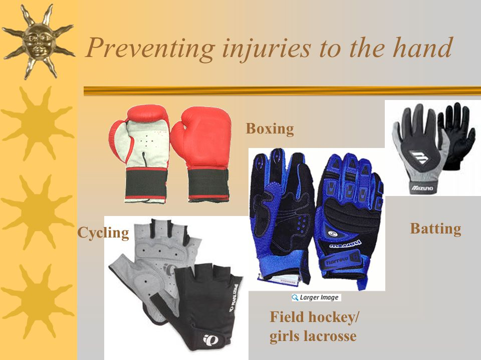 Preventing injuries to the hand