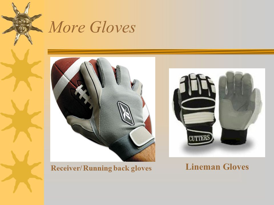 More Gloves Lineman Gloves Receiver/ Running back gloves
