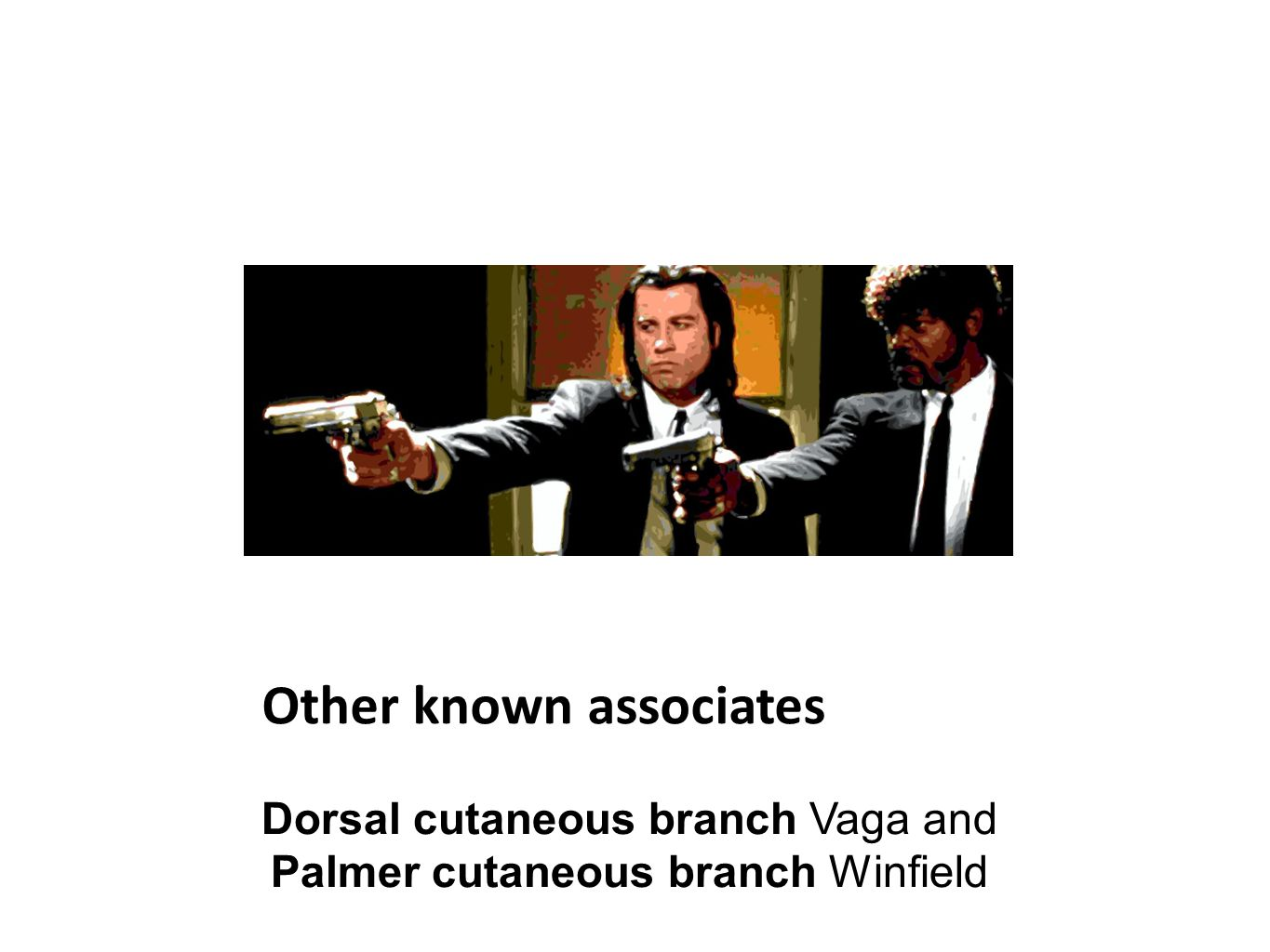 Other known associates