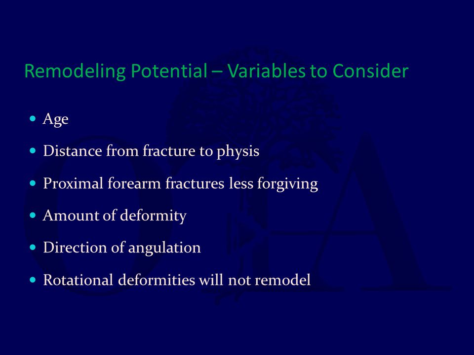 Remodeling Potential – Variables to Consider