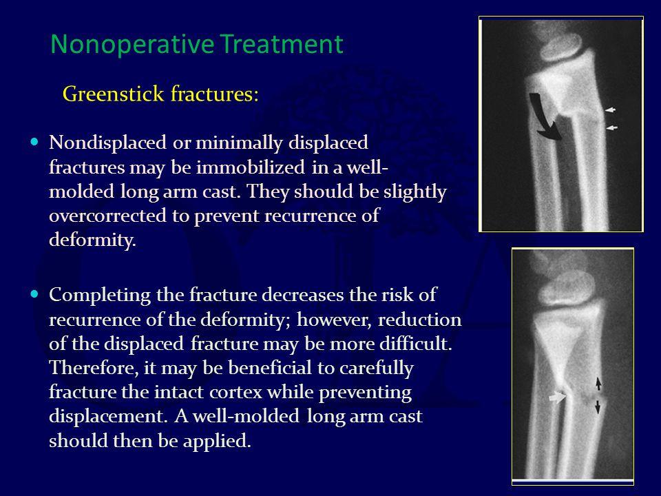 Nonoperative Treatment