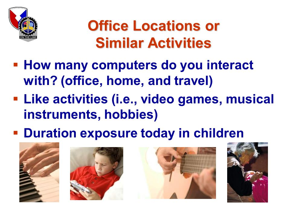 Office Locations or Similar Activities