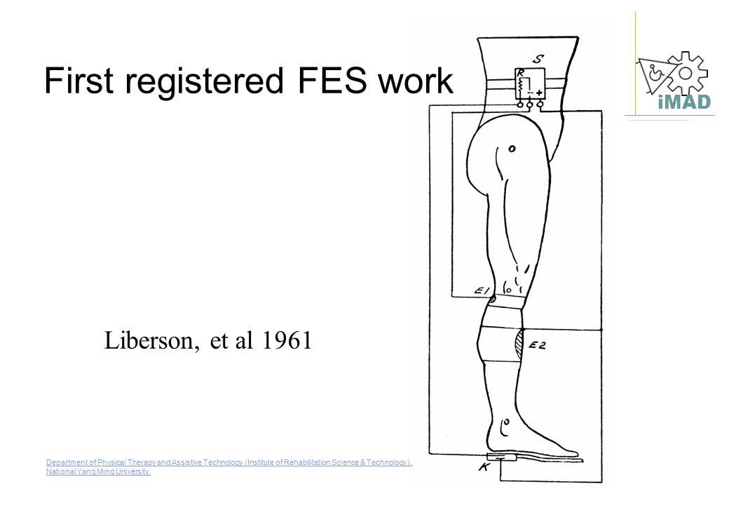 First registered FES work