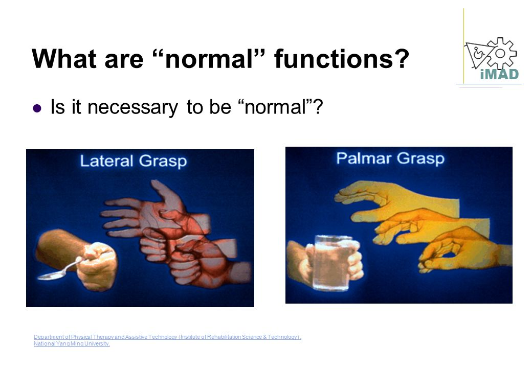 What are normal functions