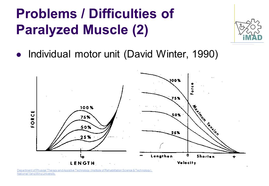 Problems / Difficulties of Paralyzed Muscle (2)
