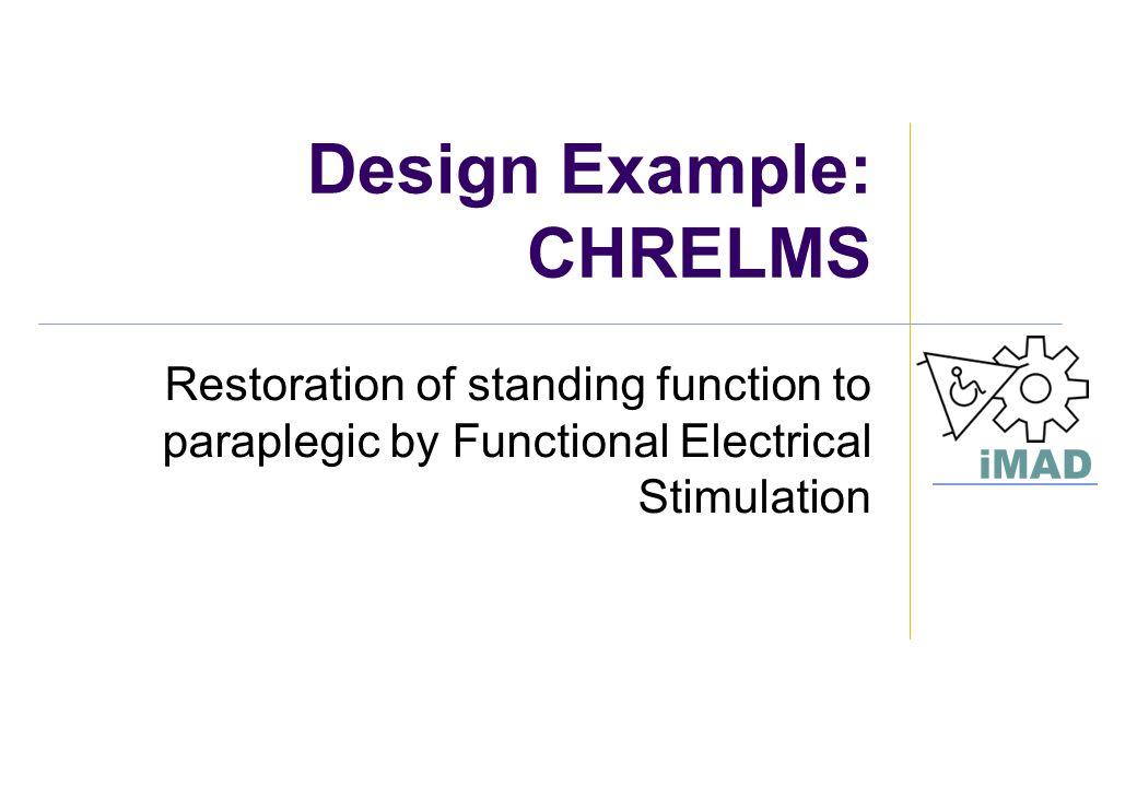 Design Example: CHRELMS