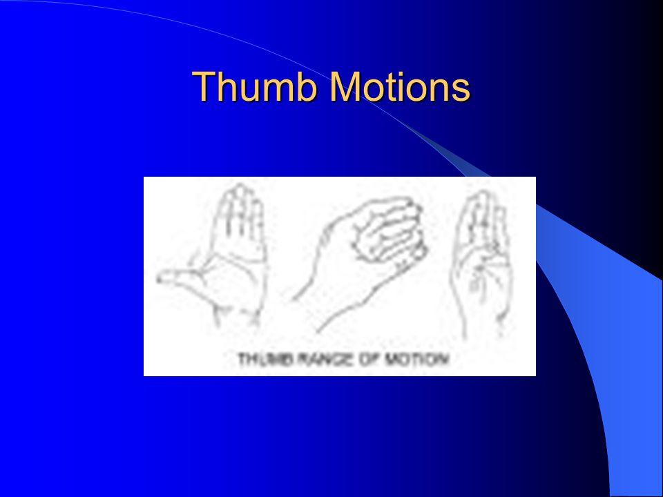 Thumb Motions
