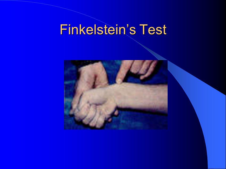 Finkelstein's Test
