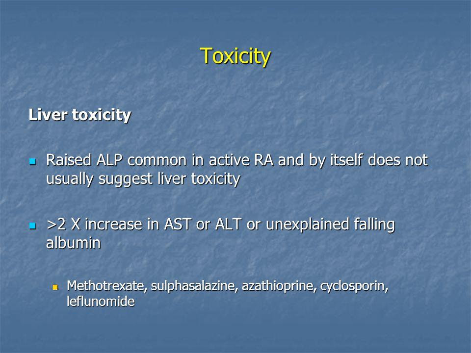 Toxicity Liver toxicity