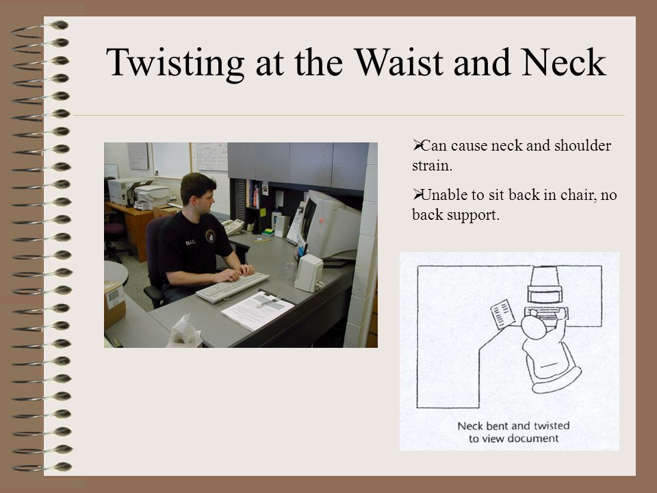 Twisting at the Waist and Neck