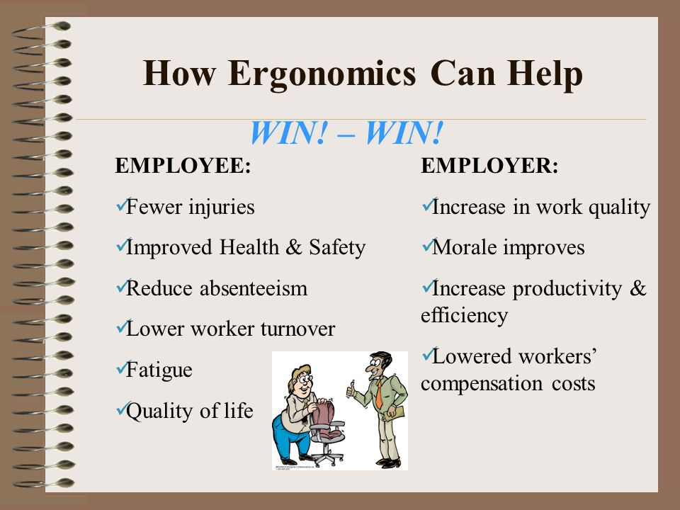 How Ergonomics Can Help