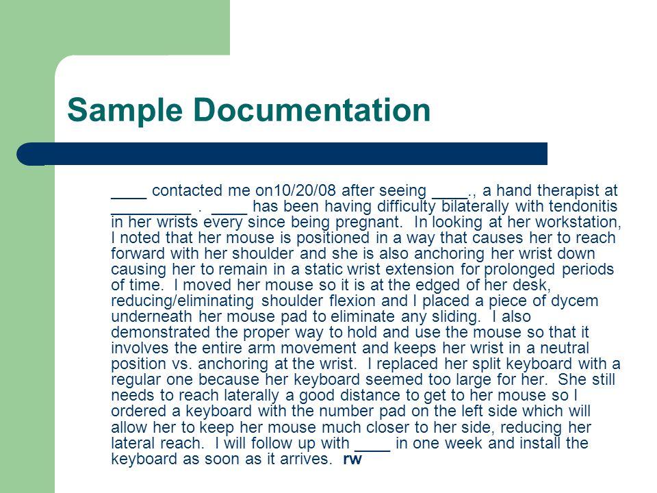Sample Documentation
