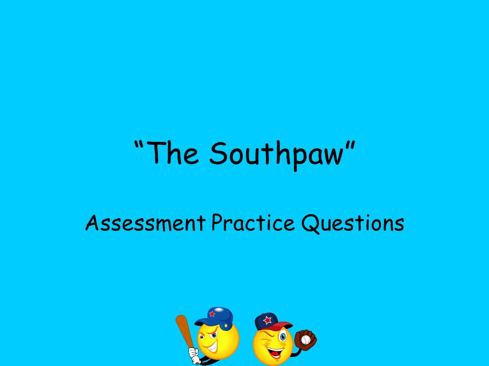 Assessment Practice Questions