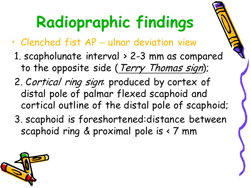 Radiopraphic findings