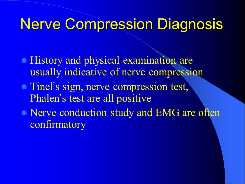 Nerve Compression Diagnosis