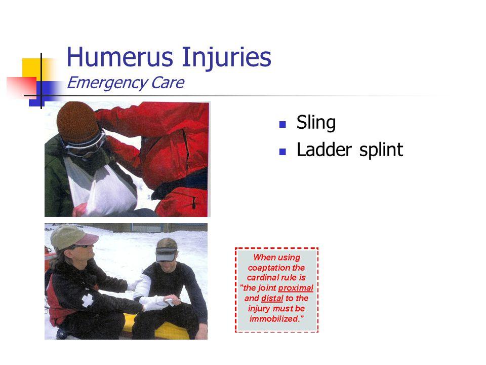 Humerus Injuries Emergency Care