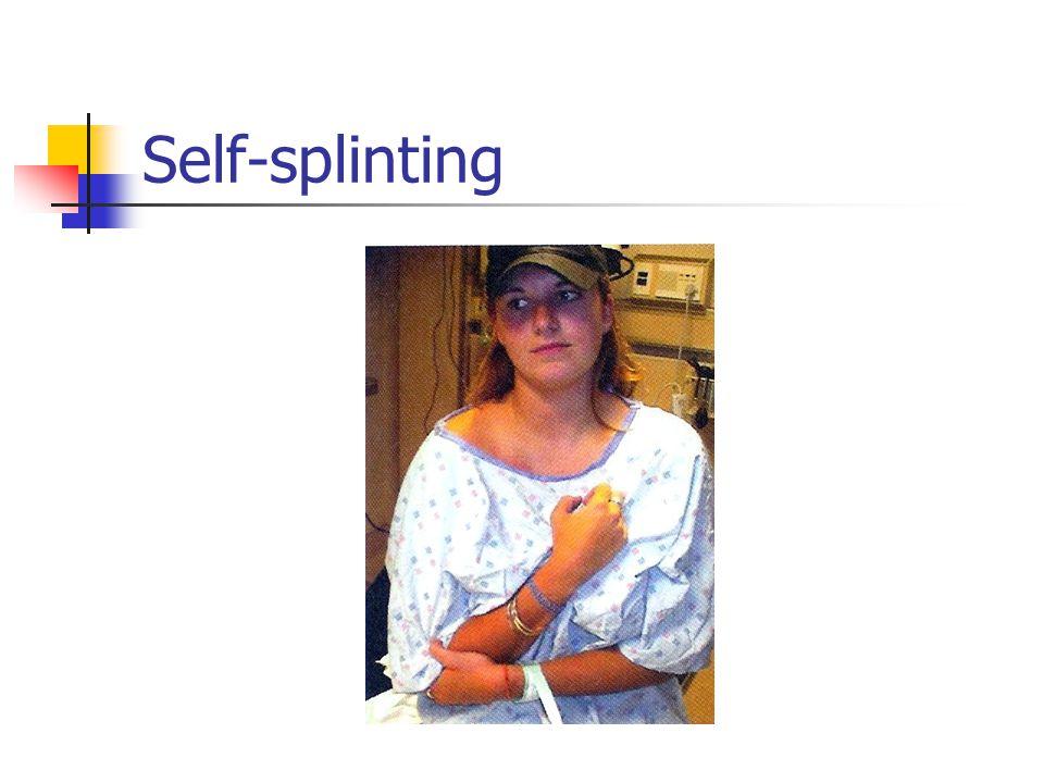 Self-splinting