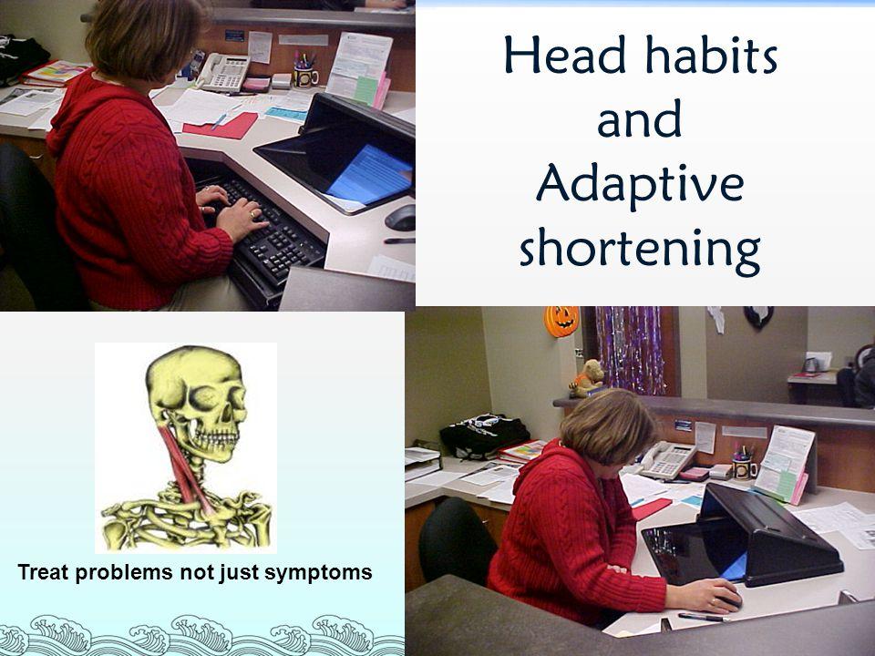 Head habits and Adaptive shortening