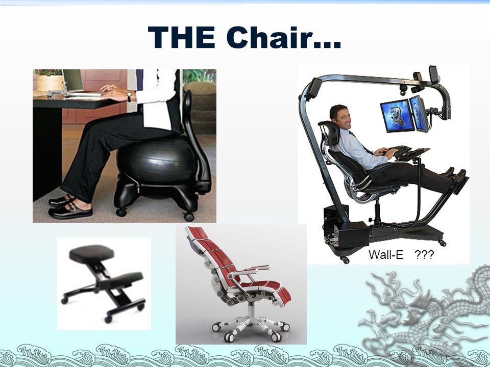 THE Chair… Wall-E