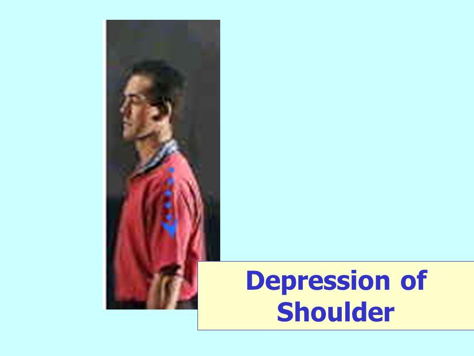 Depression of Shoulder