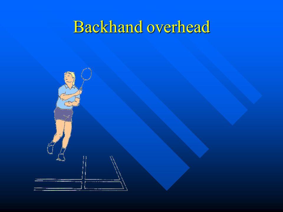 Backhand overhead