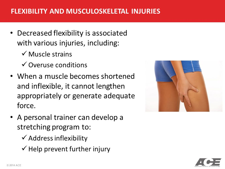 FLEXIBILITY AND MUSCULOSKELETAL INJURIES