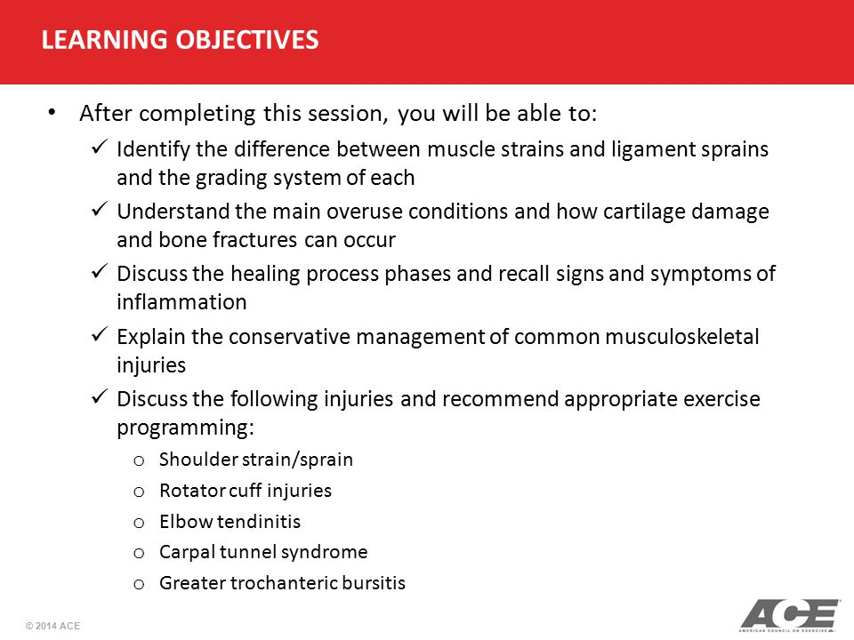 LEARNING OBJECTIVES After completing this session, you will be able to: