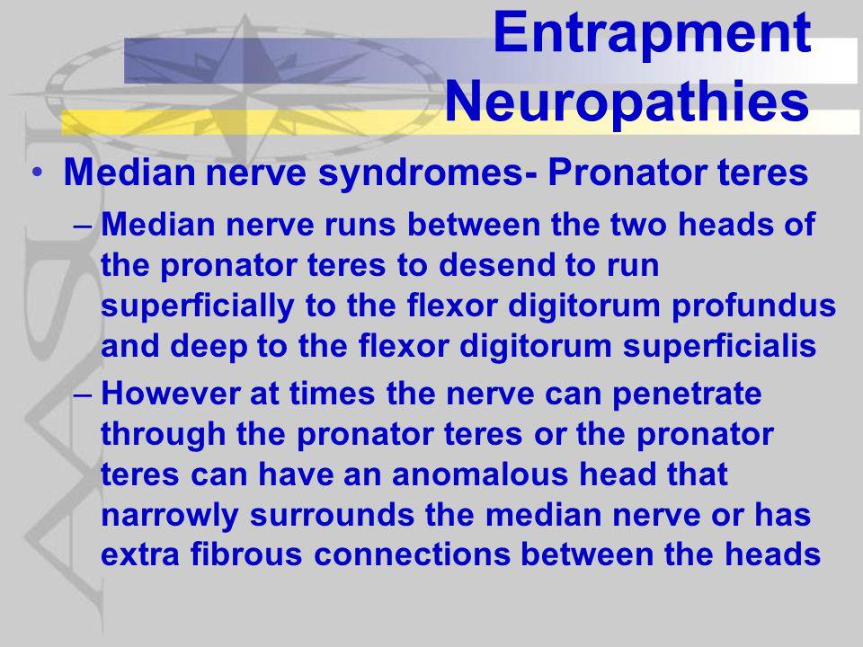 Entrapment Neuropathies