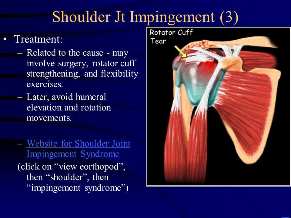 Shoulder Jt Impingement (3)