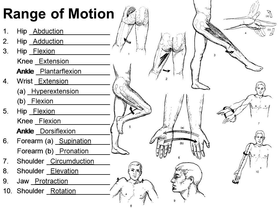 Range of Motion Hip _Abduction_________________