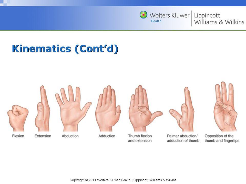 Kinematics (Cont'd)