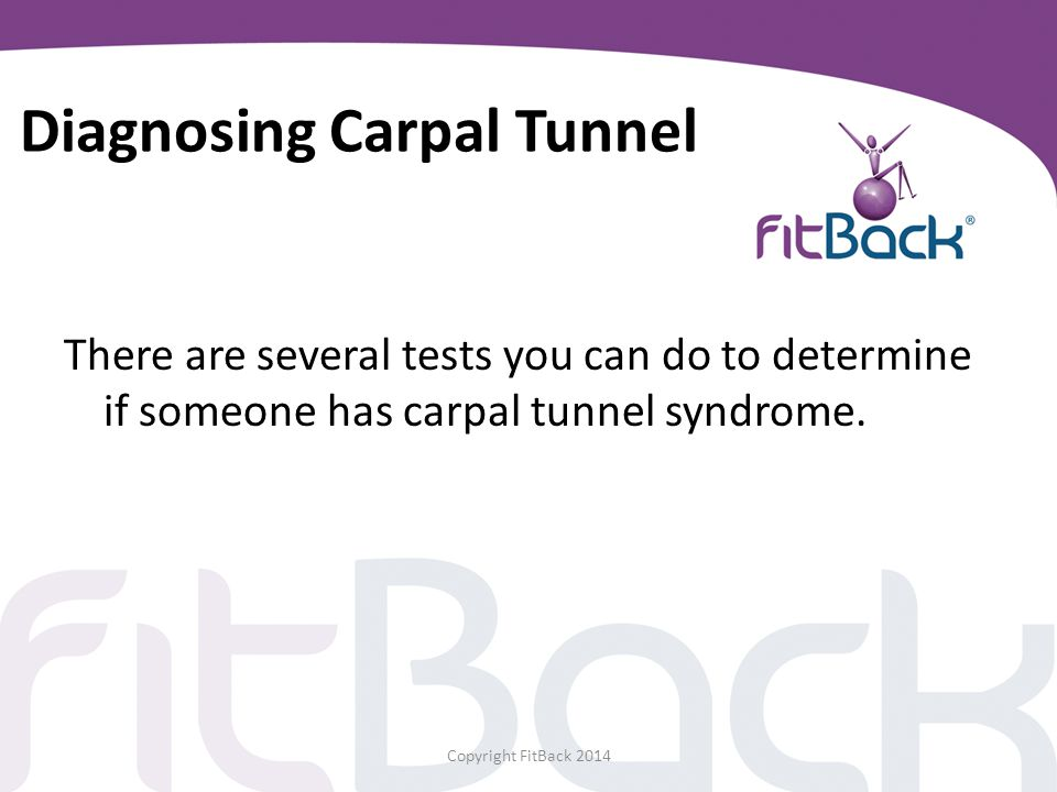 Diagnosing Carpal Tunnel