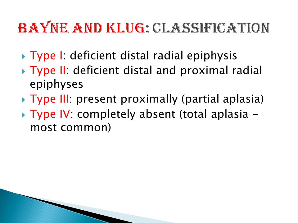 Bayne and Klug: Classification